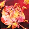 Décor Rose I painting by Sue Graham