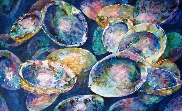 Paua Shadows by Sue Graham