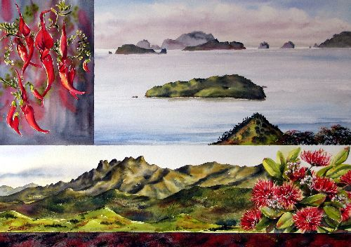 Coromandel Corners by Sue Graham
