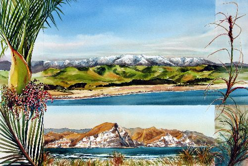Hawke's Bay Coast by sue graham