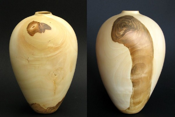 Cherry Hollow Form by Robbie Graham