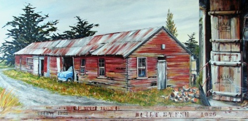 Woolshed by Sue Graham